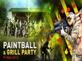 19 maj 2013r. 11:30 Paintball % Grill Party !!
